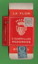 Vintage Collectible cigarette pack + tax stamp RARE packet #371